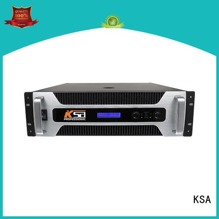 KSA high-quality stereo amplifier directly sale for multimedia