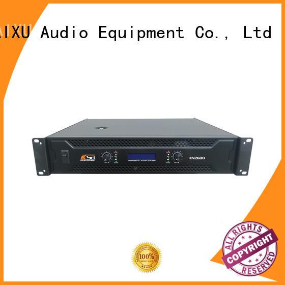 professional best power amplifier for dj channel