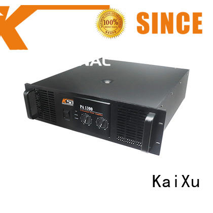 products power pa amplifiers KaiXu manufacture