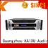 at professional audio amplifier es1800w lcd KaiXu