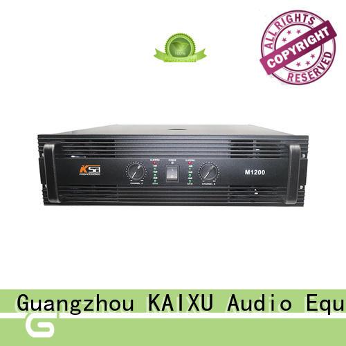 M1200W professional power sound amplifier for KTV  subwoofer