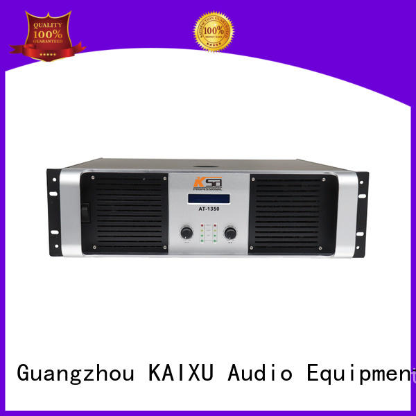 KaiXu amplifier transistor power amplifier cheapest price for stage
