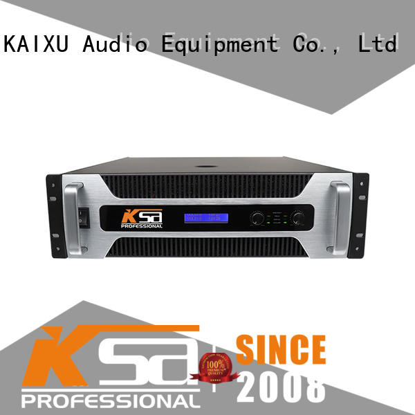 KaiXu power best home audio amplifier high quality for multimedia