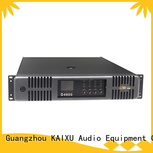 KSA factory price pa system amplifier supplier for speaker