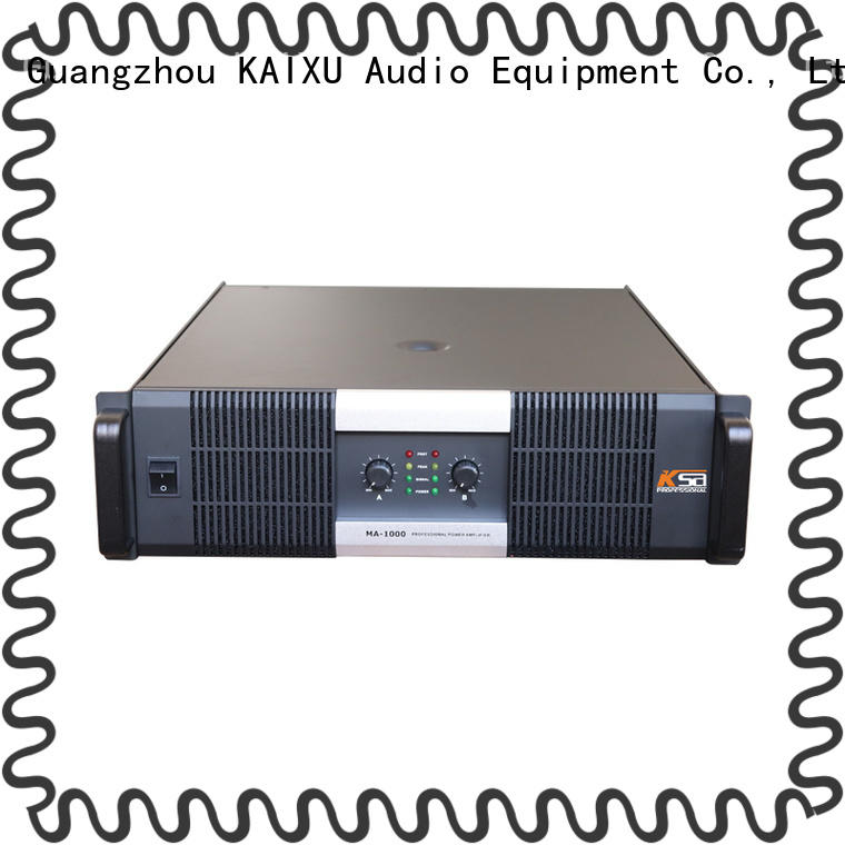 KSA home stereo amplifier directly sale for bar