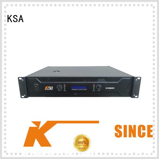 KSA amplifier power stable equipment
