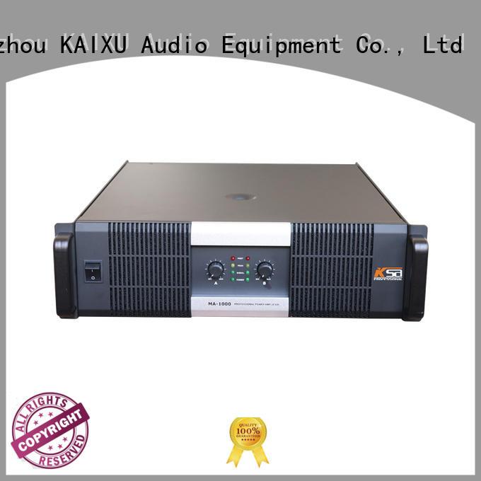 amplifier equipment power KaiXu Brand music amplifier supplier