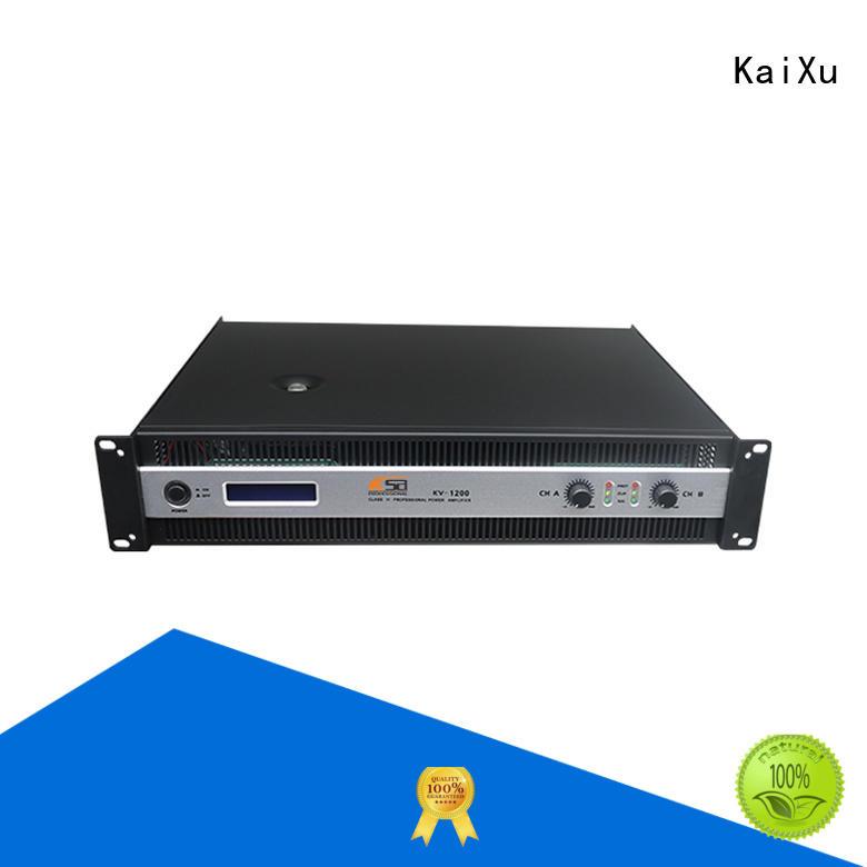 series precision power amplifier cheaper channel KaiXu