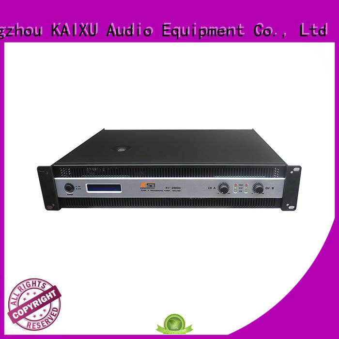 Cheapest two channal stereo audio professional power amplifier KV800W