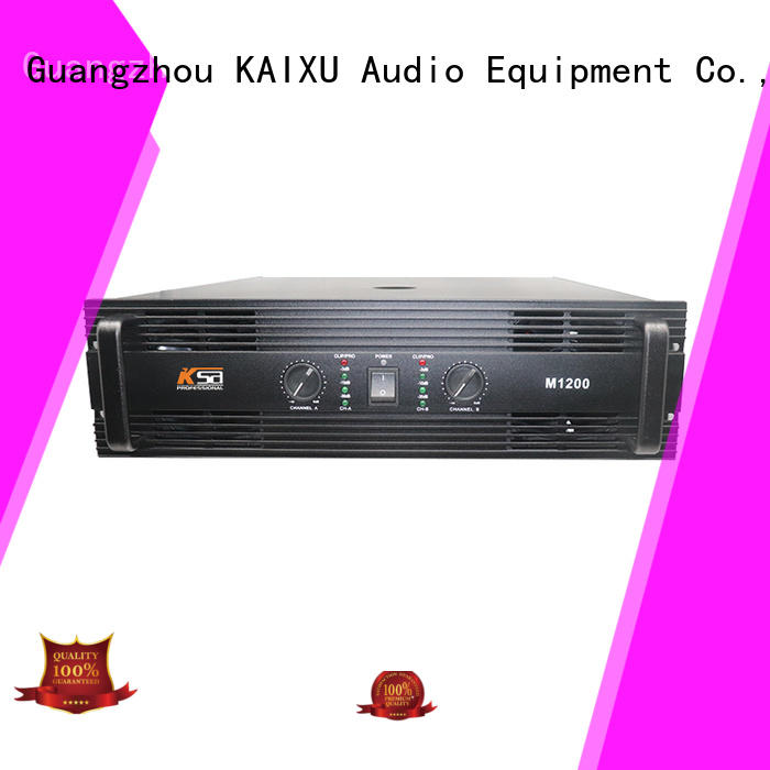 KSA wholesale stereo amp best quality for ktv