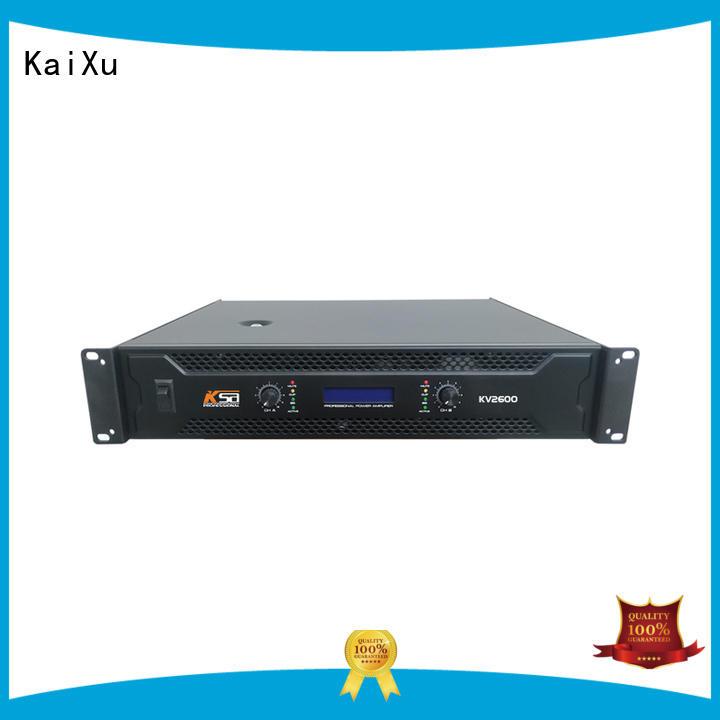 KaiXu professional professional power amp stable equipment