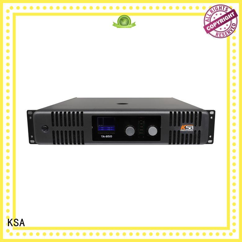 KSA high-quality dj amps music for speaker