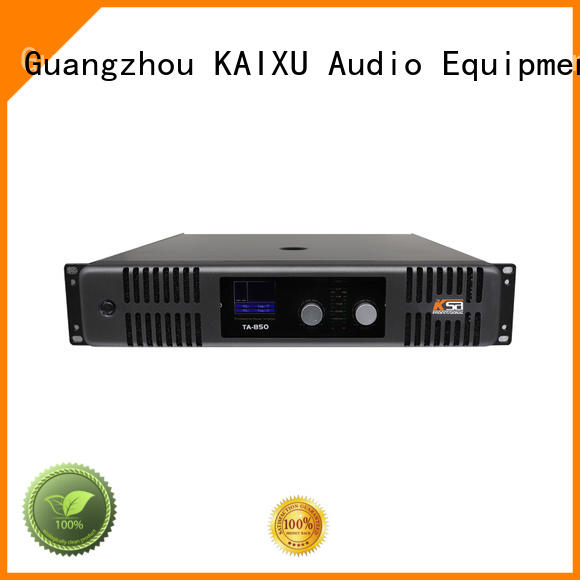 KaiXu music best power amplifier for live sound music karaoke equipment