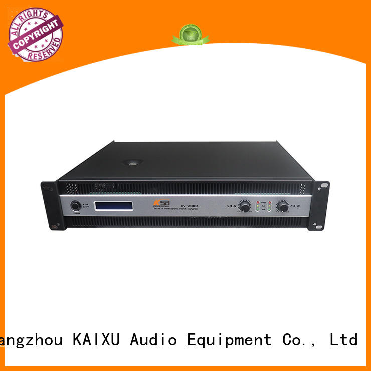KaiXu series basic stereo amplifier watts systems