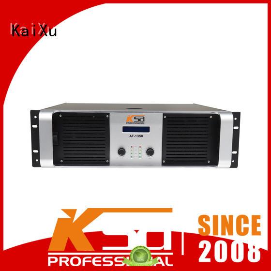 watts play professional audio amplifier effiency KaiXu company