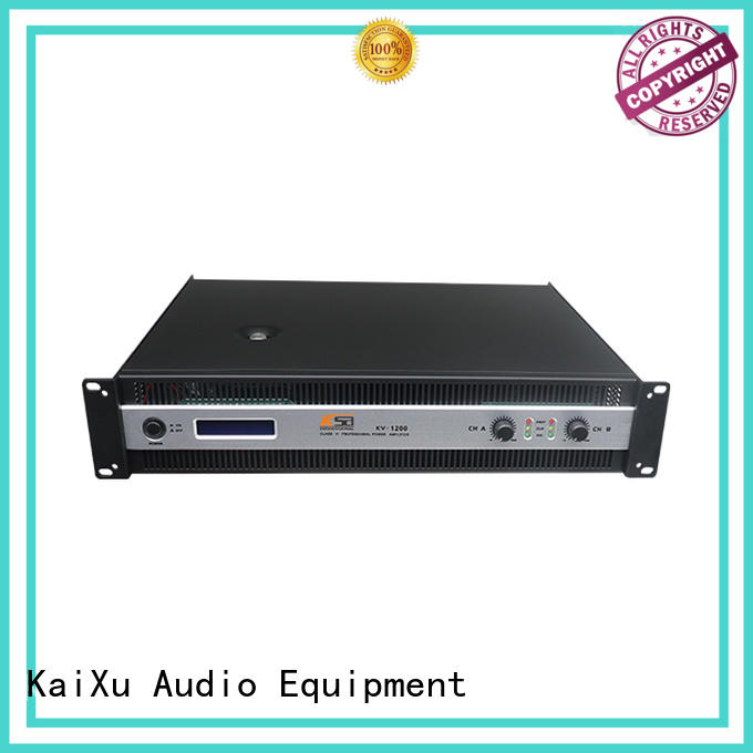 KSA practical precision power amplifier factory direct supply for night club