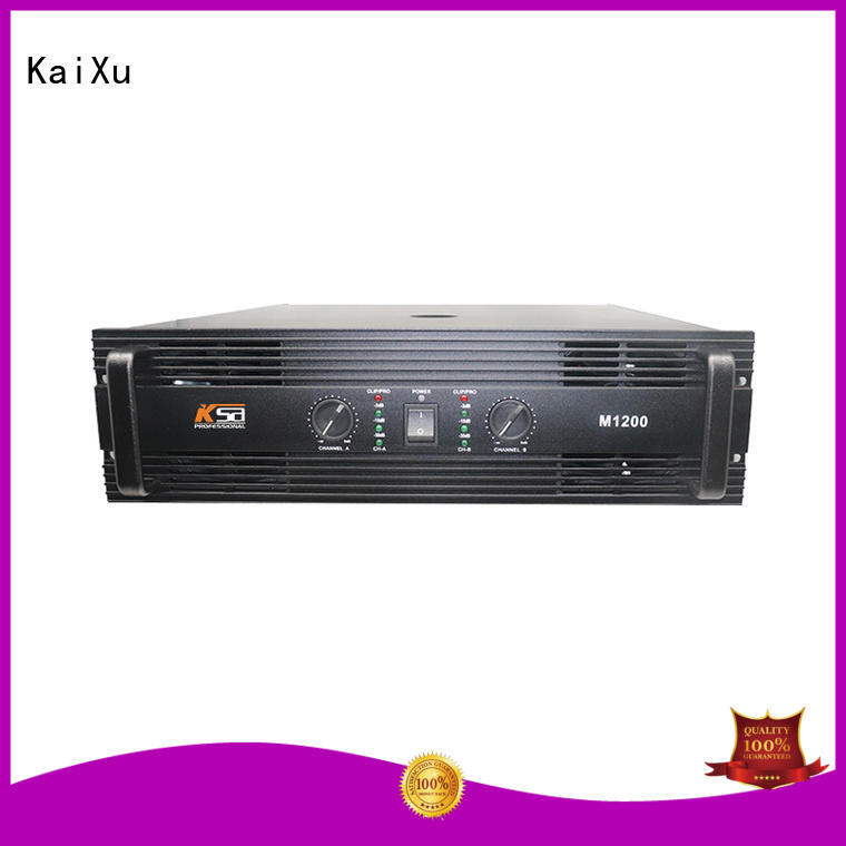 KaiXu wholesale best stereo amplifier best quality for club
