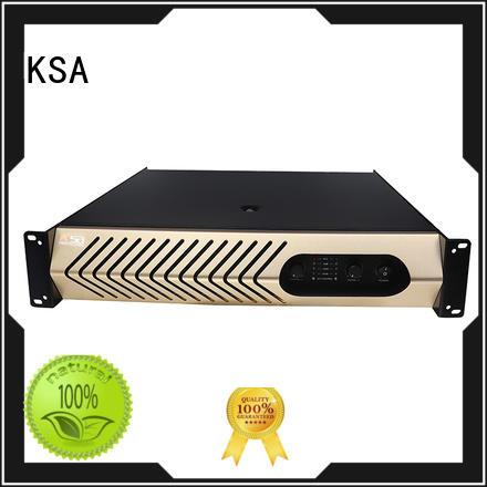 KSA best audio amplifier class series for ktv
