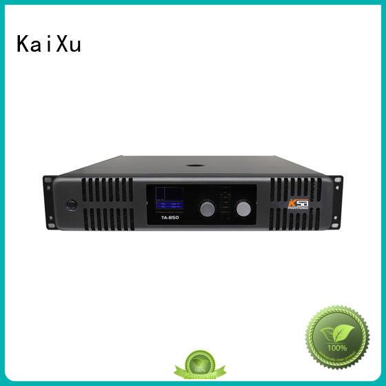 KaiXu high-quality high power amp music karaoke equipment