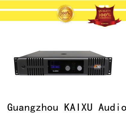 KaiXu design best power amplifier for live sound music equipment