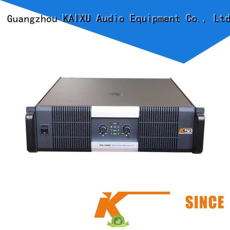 KSA cheap hifi amplifier class for night club