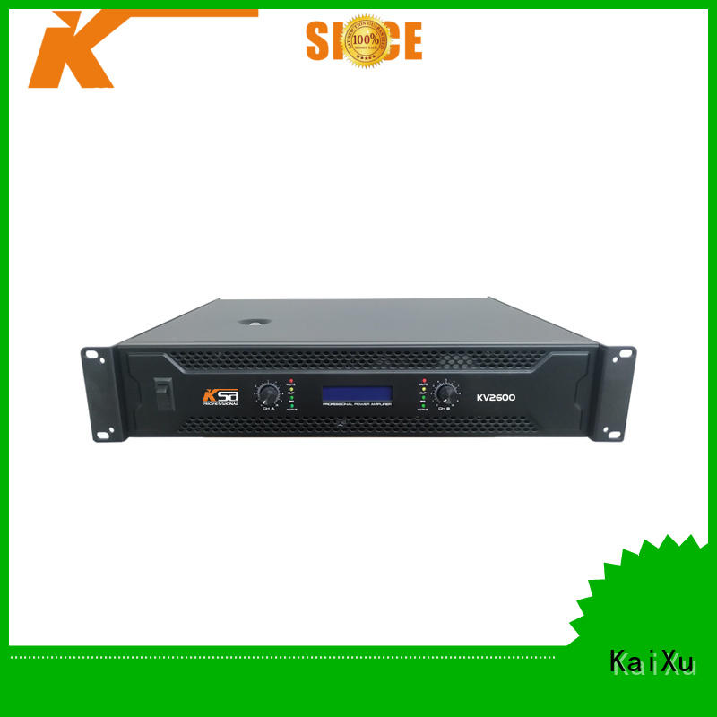 best power amps for live sound channel systems professional KaiXu Brand stereo amplifier kit
