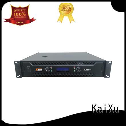 KaiXu equipment best value power amplifier watts channel