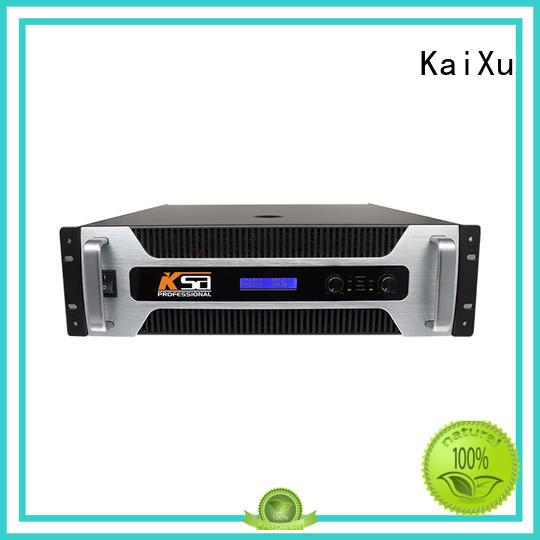KaiXu transistor power amplifier for multimedia