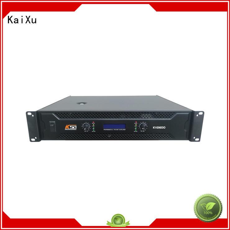 precision power amplifier class systems KaiXu