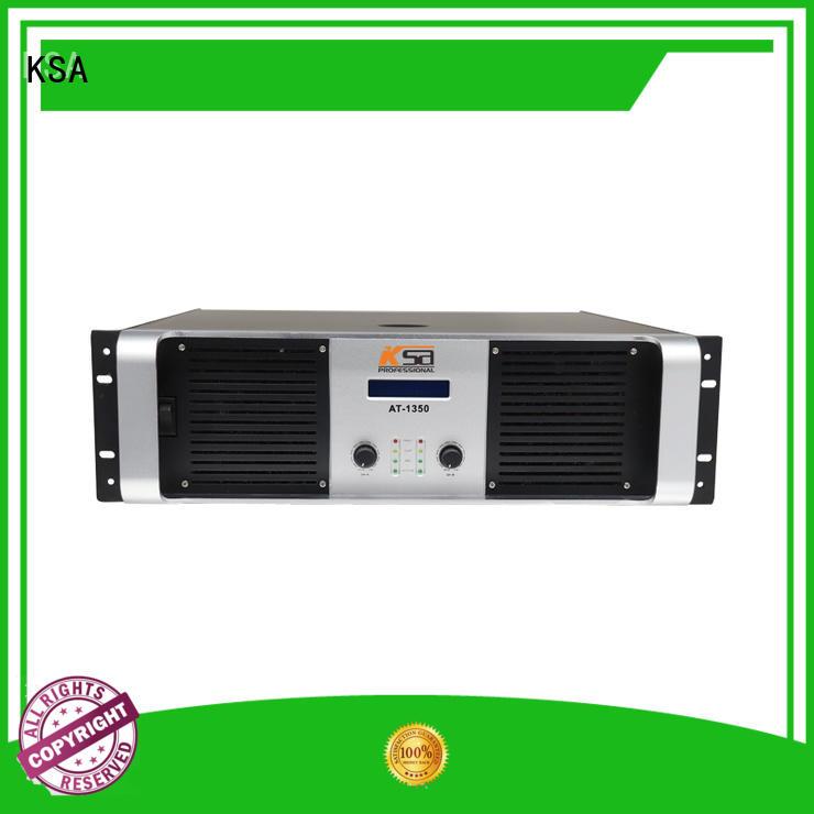 KSA popular speaker amplifier factory direct supply bulk production