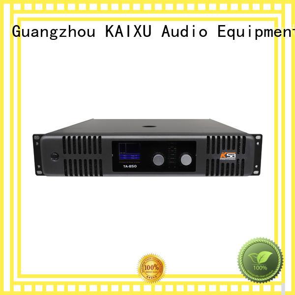 KSA audio power amp sound for club