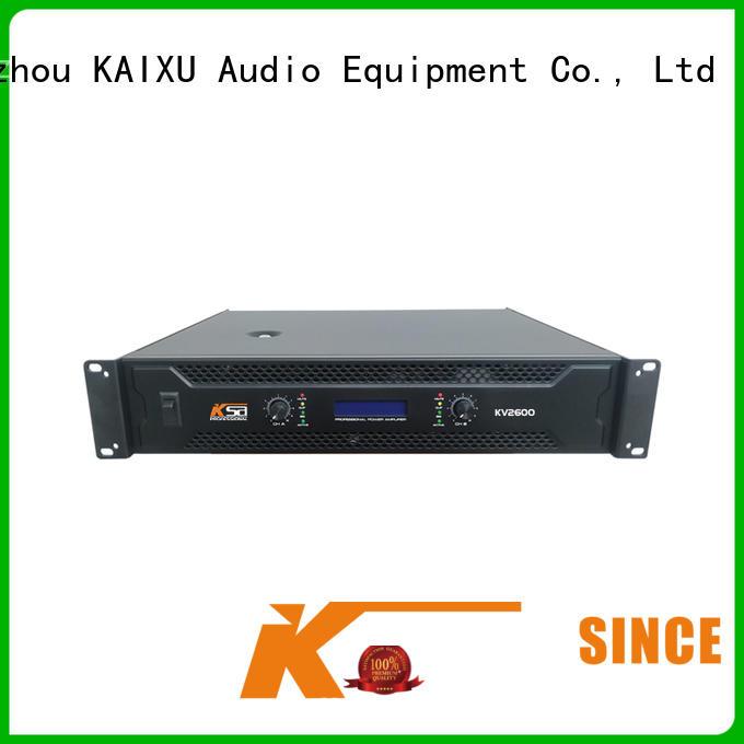 KaiXu cheapest precision power amplifier watts systems