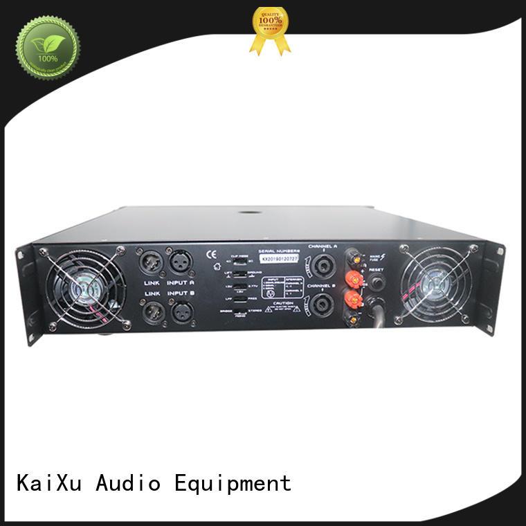 KSA professional audio power amplifiers manufacturer for club