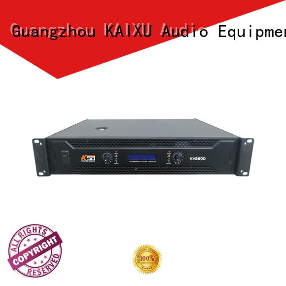 KSA quality precision power amplifier with good price for speaker