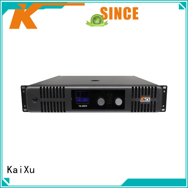 KaiXu high-quality home audio power amp sound karaoke equipment