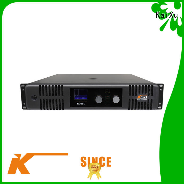 KaiXu best-price simple power amplifier music for ktv