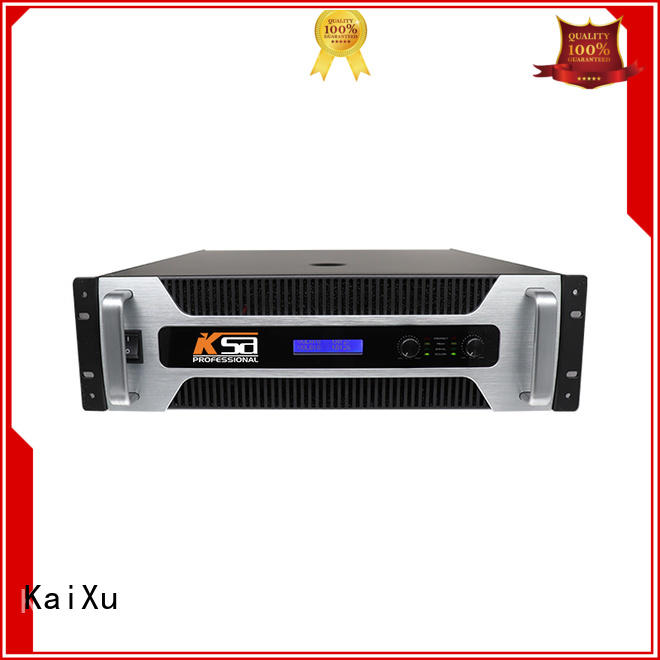 KaiXu multimedia best home audio amplifier strong for stage