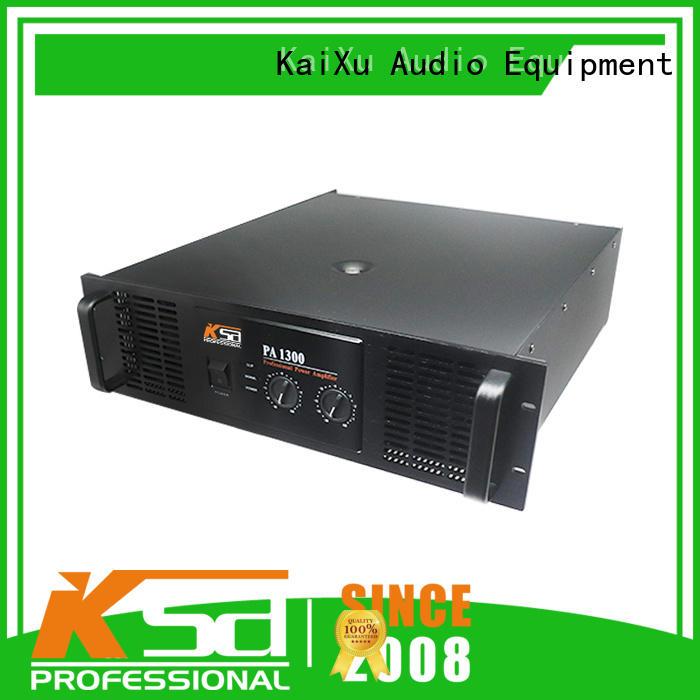 KSA home amplifier bulk production for club