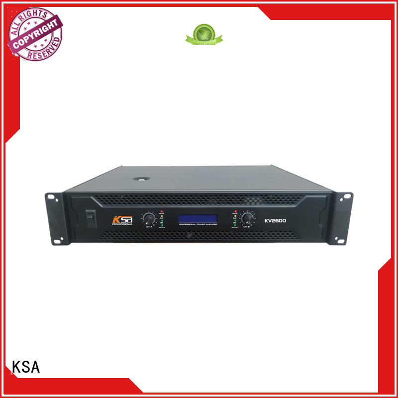 KSA stereo amplifier kit stable systems