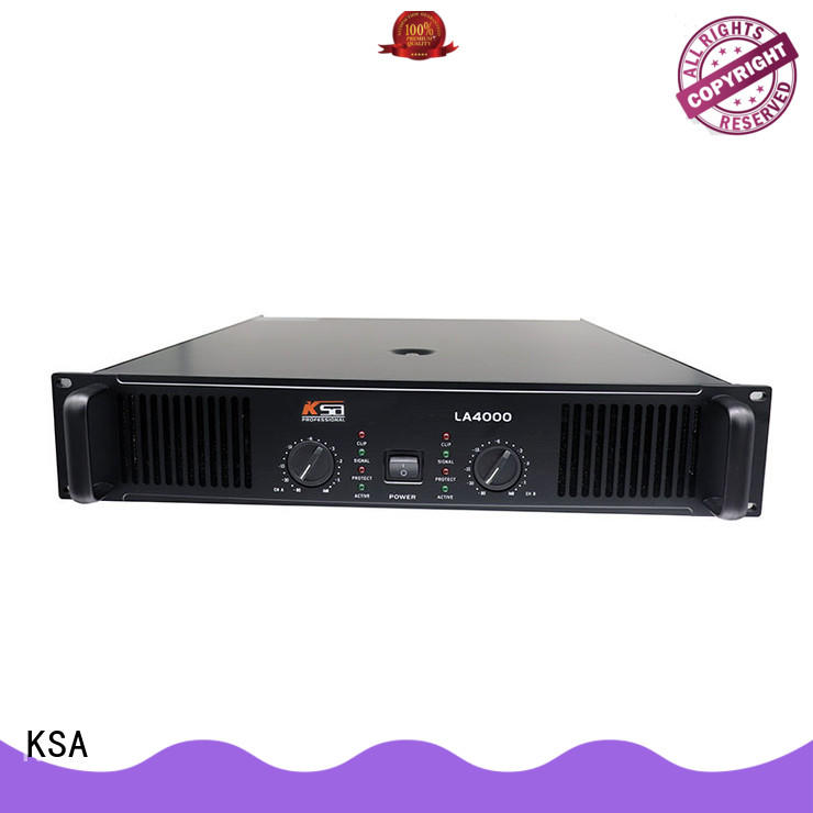 KSA stereo audio amplifier energy-saving for transformer