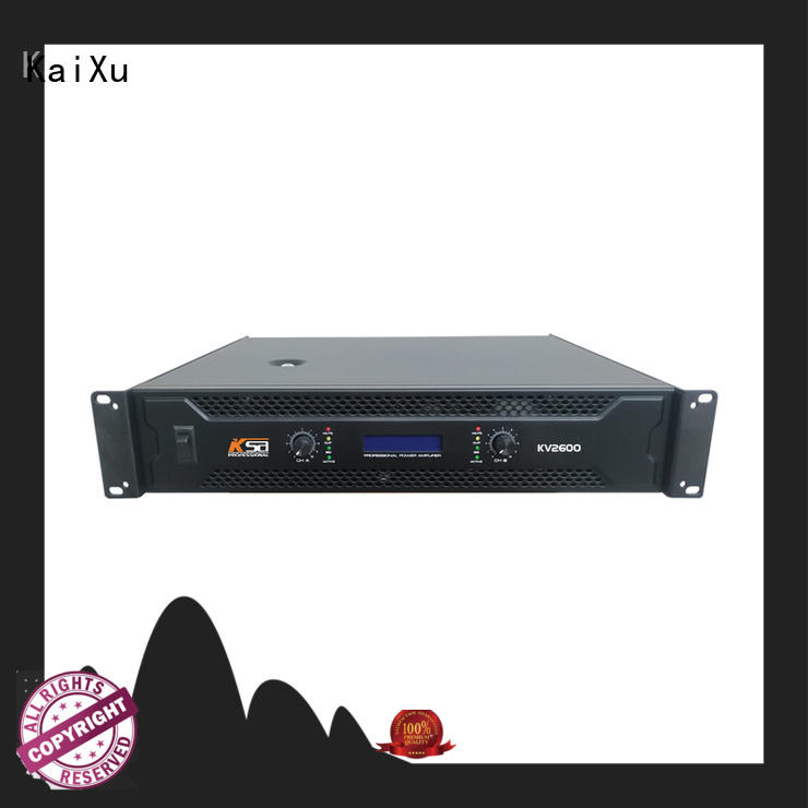 KaiXu professional power amp home theater sales series