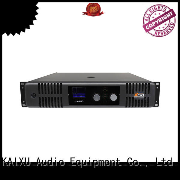 KaiXu sound home audio stereo amplifier music for night club