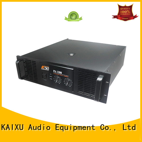 Wholesale system pa amplifiers KaiXu Brand
