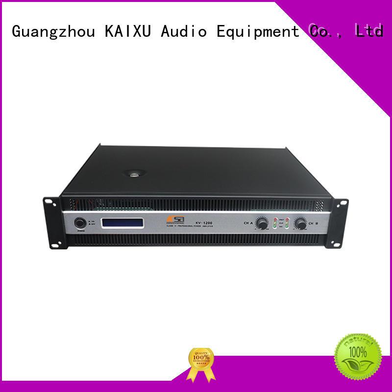 best power amps for live sound equipment KaiXu Brand stereo amplifier kit