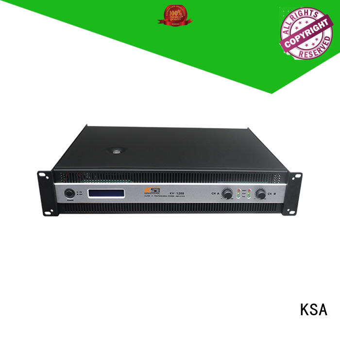 KSA hifi power amps mid equipment