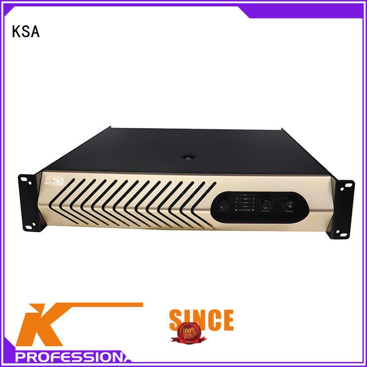 KSA stereo audio amplifier bulk production for club
