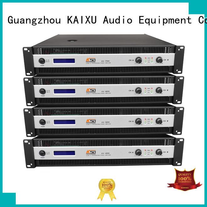 best power amps for live sound equipment series KaiXu Brand