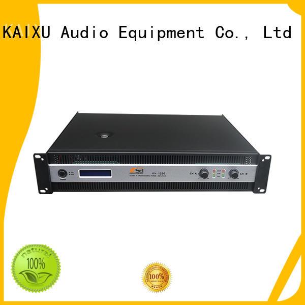 KaiXu sound best power amps for live sound amplifier sales