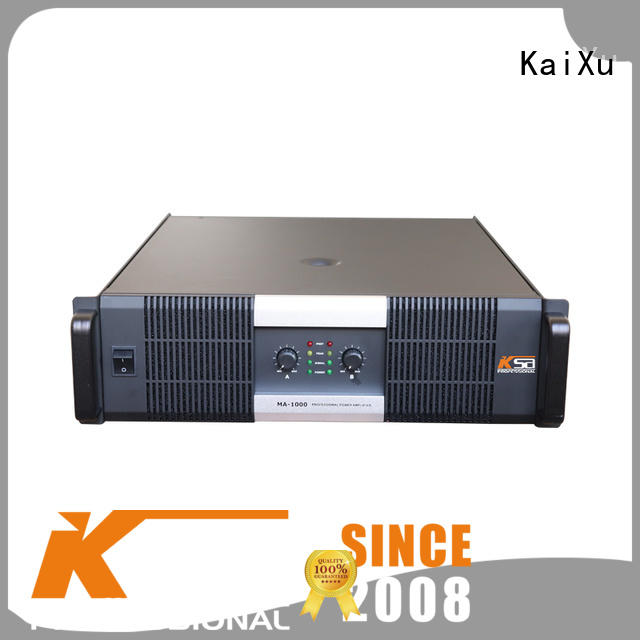 KaiXu professional stereo amp power audio