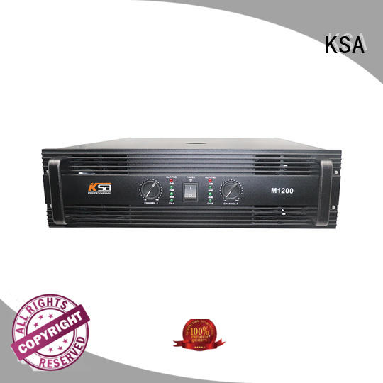 KSA stereo amp manufacturer outdoor audio